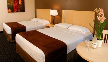 Virgin River Hotel Room